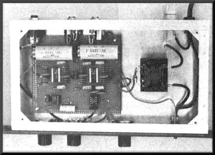 Stereo Synthesizer, top view