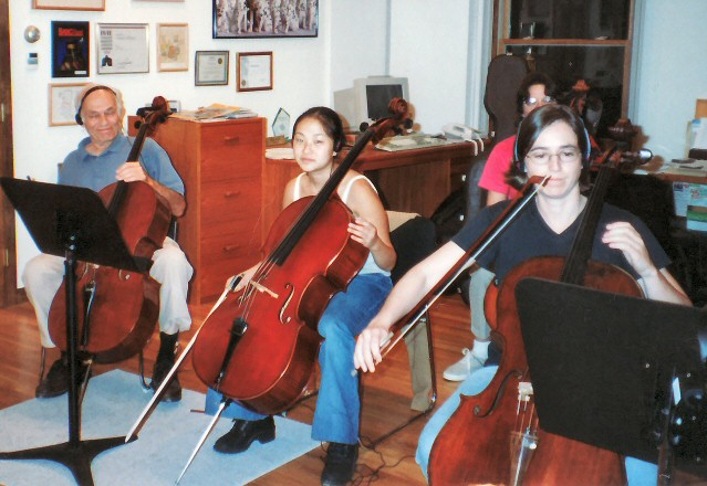 Cellos Session