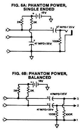 Figure 6: Battery Phantom Power
