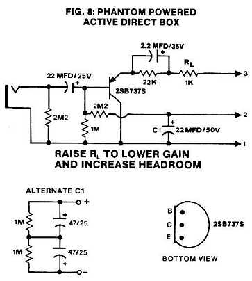 Figure 8: Active Direct Box