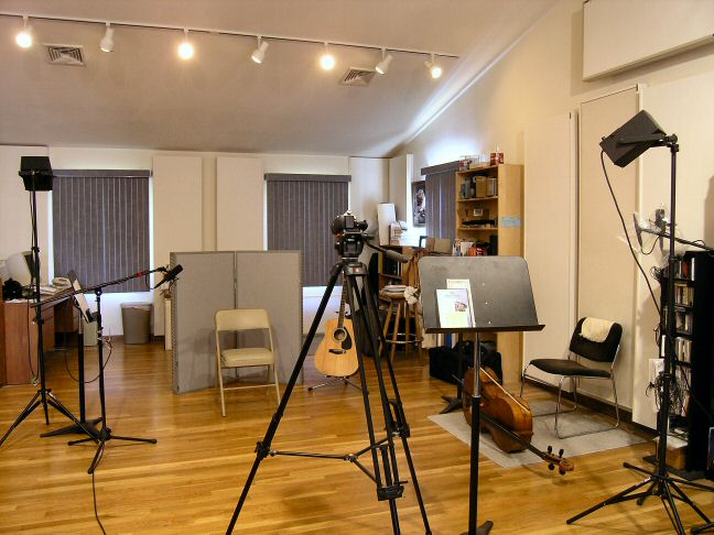 Current studio in New Milford