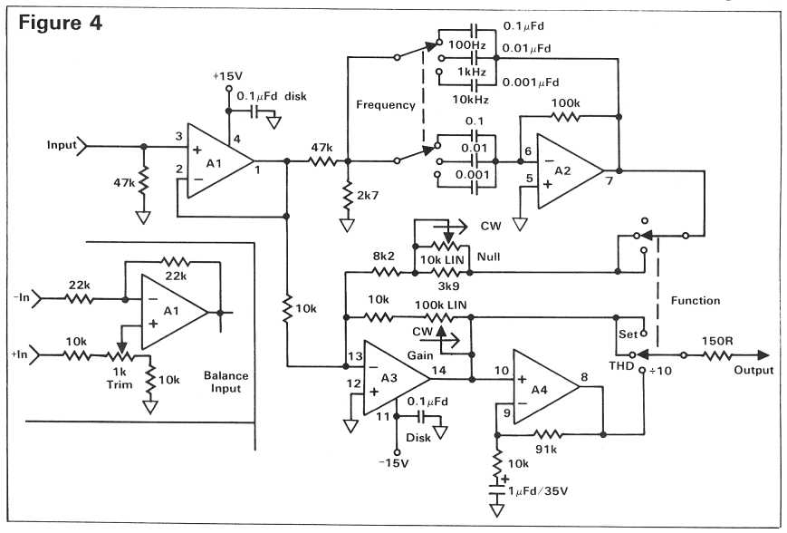 distortion analyzer - circuit to build